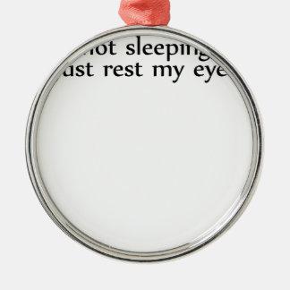 jag förmiddagen som inte sovar I-förmiddag vilar Julgransprydnad Metall