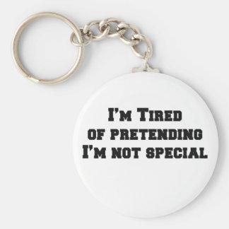Jag förmiddagen tröttade av att låtsa den inte spe rund nyckelring