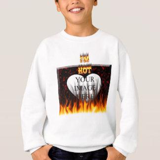 Jag förmiddaghetten avfyrar och flammar tshirts