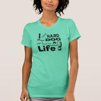 Jag fungerar den hårda skjortan t-shirts