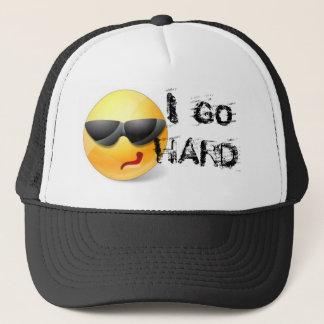 JAG GÅR DEN HÅRDA hatten för räkningen för Truckerkeps