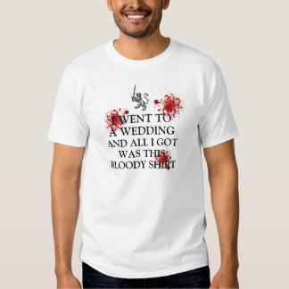 Jag gick till ett bröllop, och allt I-har var T Shirt