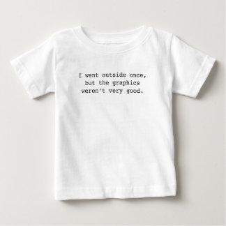 Jag gick yttersidan en gång t-shirts