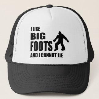 Jag gillar Bigfoots, och jag kan inte ljuga Keps