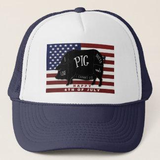 Jag gillar grisändor, och jag kan inte ljuga truckerkeps