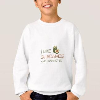 Jag gillar guacamole, och jag kan inte ljuga tshirts