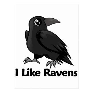 Jag gillar Ravens Vykort