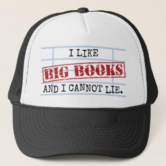 Jag gillar stora bokar, och jag kan inte ljuga det keps