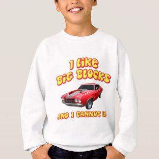 Jag gillar stora kvarter, och jag kan inte ljuga tee shirts