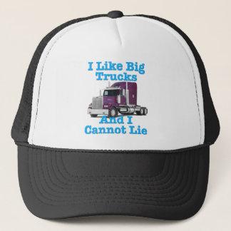 Jag gillar stora lastbilar, och jag kan inte ljuga keps