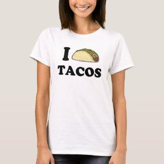 Jag gillar tacosen tshirts