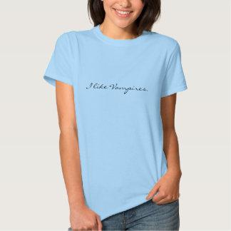 Jag gillar Vampires. T-shirt