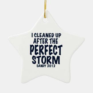 Jag gjorde upp ren, efter den perfekta stormen, sa julgransdekorationer