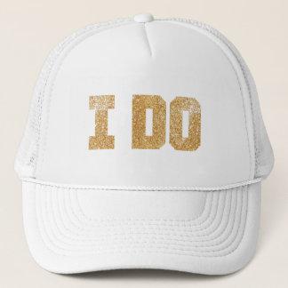 Jag gör den guld- brudBachelorette hatten Truckerkeps