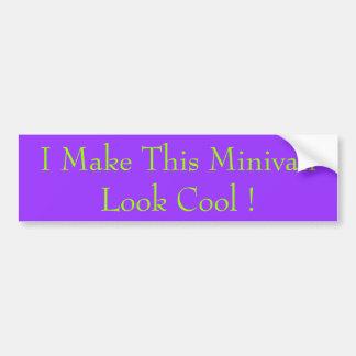 Jag gör denna minivanLookcoola! Bildekal