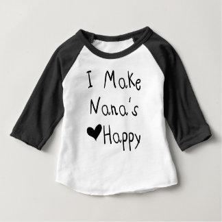 Jag gör Nanas hjärta den lyckliga T-tröja Tröja