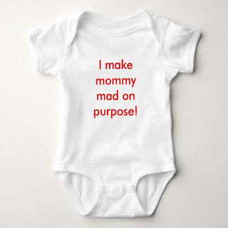 Jag gör på mammor tokiga att ämna! tee shirt