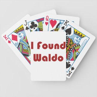 Jag grundar Waldo!!!! Spelkort