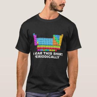 Jag ha på sig detta periodiska bord för skjortan t-shirts