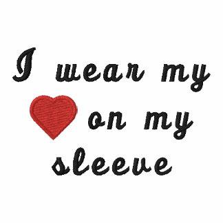 Jag ha på sig min hjärta på min sleeve