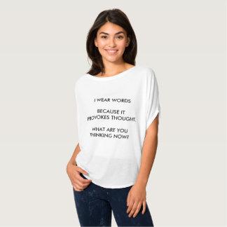 Jag ha på sig ord t shirts