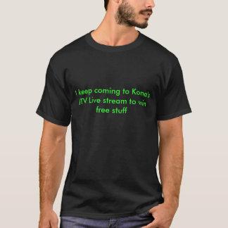 Jag håller kommande till Konas JTV Live för att Tshirts