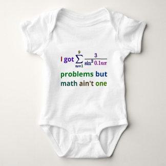 Jag har 99 problem utan math är inte en t-shirt