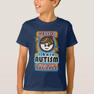Jag har autism, behar har patiens (boy2) tröja