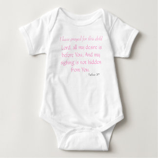 Jag har bett för detta barn, lorden, all min des… t-shirt