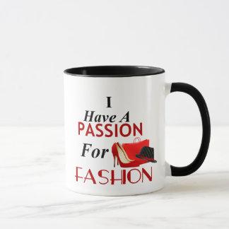 Jag har en passion för Combo mugg för mode