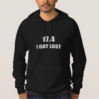 Jag har förlorade tröja med luva