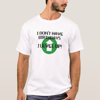 Jag har inte födelsedagar… t-shirt