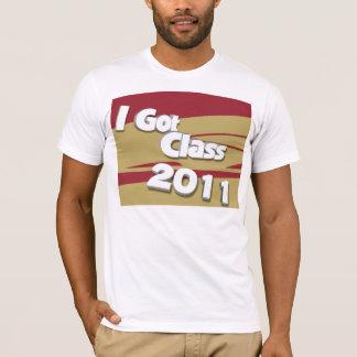 Jag har klassificerar (granatrött 2011 och guld) t shirt