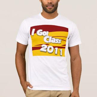 Jag har klassificerar (kardinalen 2011 och guld) t-shirt