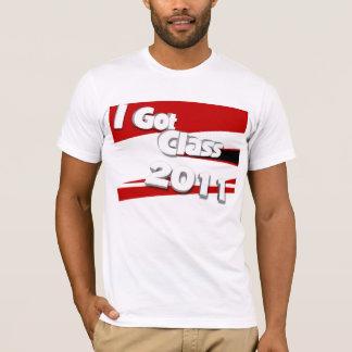 Jag har klassificerar (scarlet 2011, vit och tee shirt