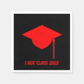 Jag har klassificerar svart 2015 med den röda pappersservett