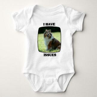 Jag har utfärdar bebiset för den shetland t shirts
