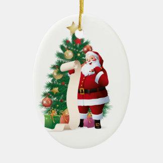 Jag har varit den bra prydnaden julgransprydnad keramik