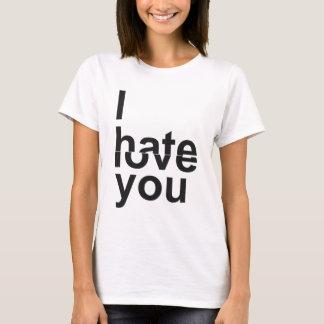 Jag hatar - älska dig t shirt
