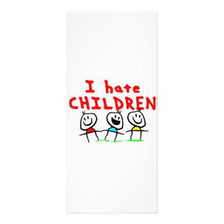 Jag hatar barn! reklamkort