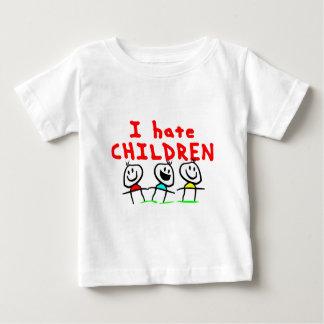 Jag hatar barn! t-shirts