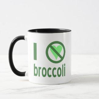 Jag hatar broccoli mugg