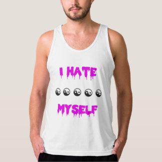 Jag hatar jag själv T-tröja Tank Top