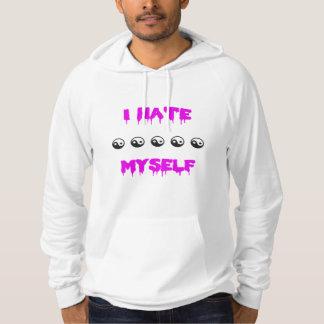 Jag hatar jag själv tröja med luva