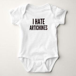 Jag hatar kronärtskockor tee shirt