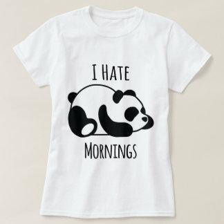 Jag hatar morgnar t-shirts