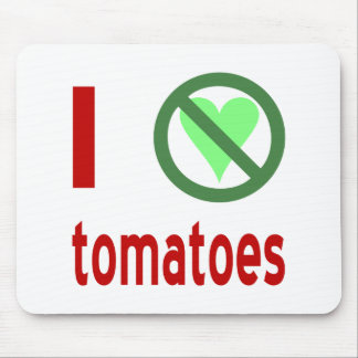 Jag hatar tomater musmatta