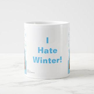 Jag hatar vinter av Evaw Nomis Jumbo Mugg
