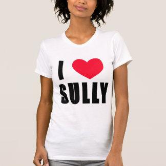 Jag hjärta befläcker t-shirt