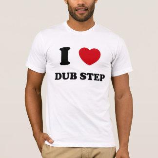 Jag hjärtaduben kliver t-shirt